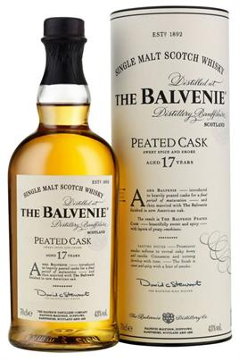 Balvenie Scotch Single Malt Peated Cask 17 Year